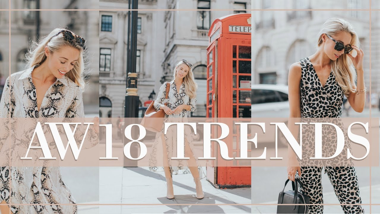 10 TRENDS FOR AUTUMN WINTER 2018 + HOW TO WEAR NOW // Fashion Mumblr 5
