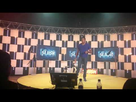 Arthur Hayes pitching BitMEX at Slush 2014