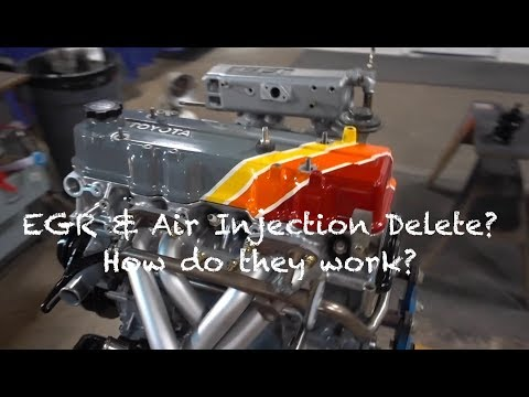 22R E EGR and Air Injection - YouTube
