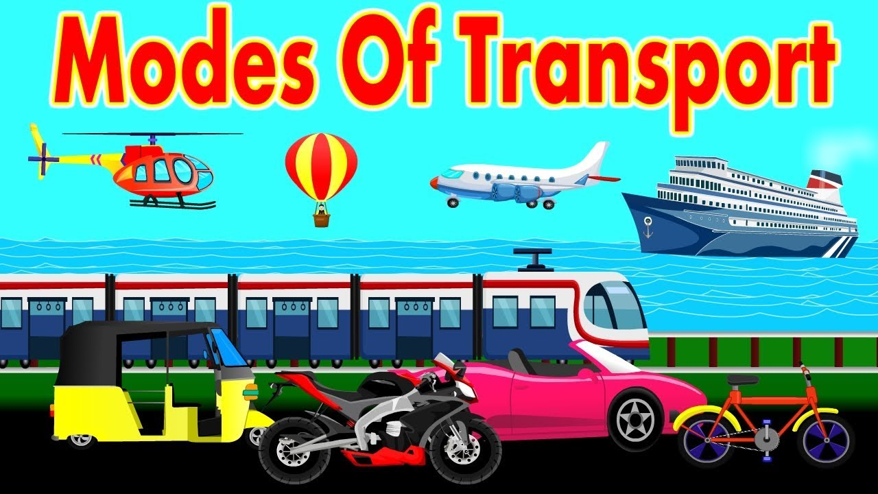 Different Types Of Transportation
