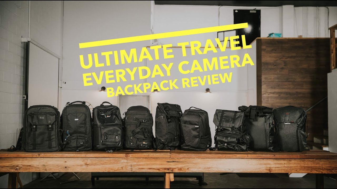 Best Everyday Travel Camera Backpack - YouTube 0ad235ec02566