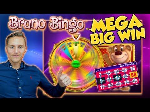 BIG WIN!!! Bruno Bingo Big win - Casino - free spins (Online Casino)