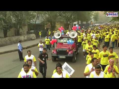 Navi Mumbai Awaaz - MGM Walkathon - Walk For Health