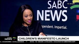 DISCUSSION: South African Children's Manifesto