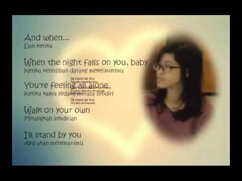 I'LL STAND BY YOU - Pretender Cov. Roxette (Lyrics Eng + Lirik Indonesia)