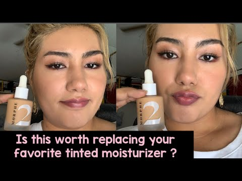 New Morphe 2 Hint Hint Skin Tint Review And Wear Test Youtube Meet a new line of light, multipurpose makeup that keeps it simple yet stunning. new morphe 2 hint hint skin tint review and wear test