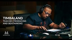 Timbaland Teaches Producing and Beatmaking | Official Trailer | MasterClass