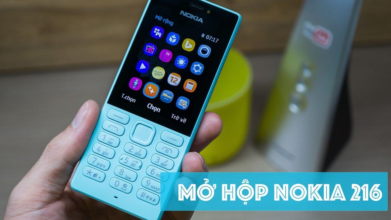 Mở hộp Nokia 216 | Nokia 216 Unboxing | điện thoại phổ thông sau cùng của Microsoft