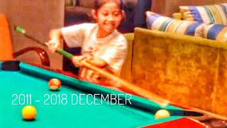 ( FAMILY ) MAMUZZ & KAHAN 8 YEARS OF BILLIARD 2011 - 2018 NOW AND THAN SNOOKER SHERATON & CORE HOTEL