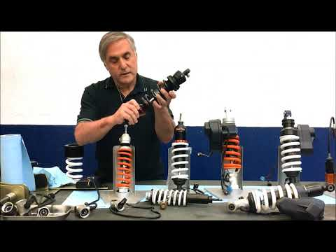 BMW 20052009 R1200RT ESA1 shocks.  Suspension problems and solutions by Ted Porter.