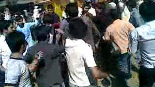 ali sambat cham matta swat  hazara university guys are dancing while funfaire 2011
