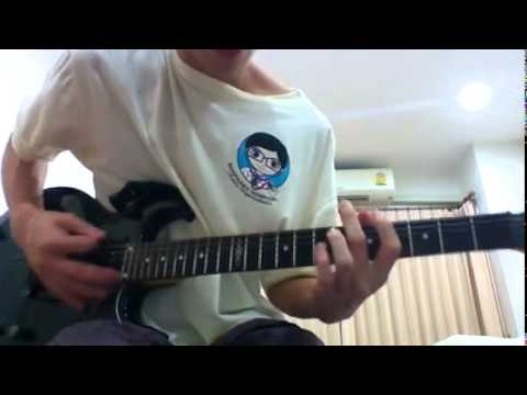 Intro distortion god hates us (A7X) Guitar Cover by Patrick