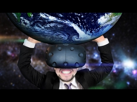 VISIT YOUR OWN HOUSE IN VR | Google Earth VR (HTC Vive Virtual Reality) - HD
