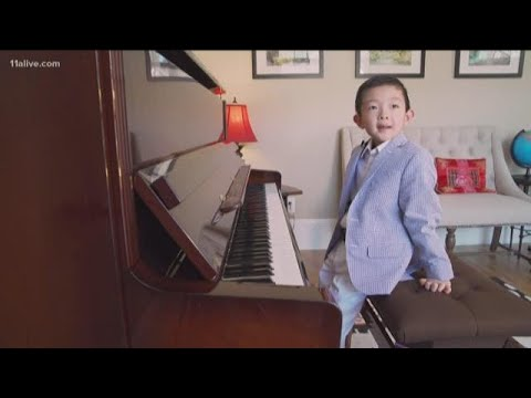 6-year-old Piano Prodigy Heads To Play At Carnegie Hall