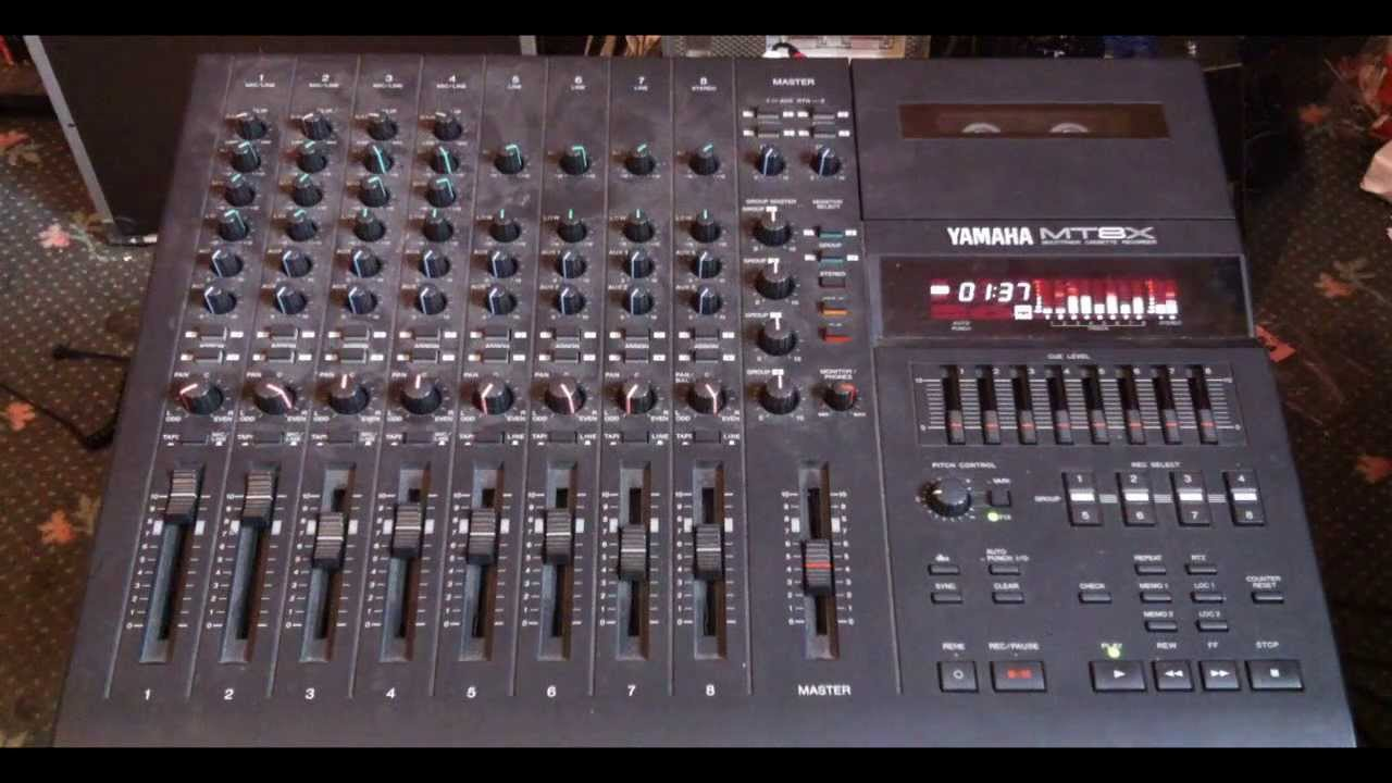 Yamaha Mvmixer Manual