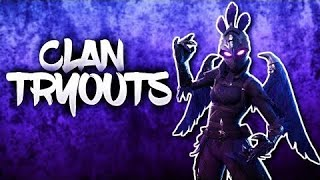 Fortnite Live Evade Clan Tryouts!! Winners get prize//Giveaway//ArenaMod 345P #EvadeRC