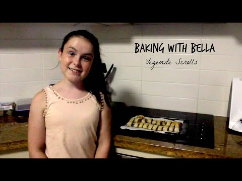 Baking With Bella | Vegemite Scrolls | Completely Awesome
