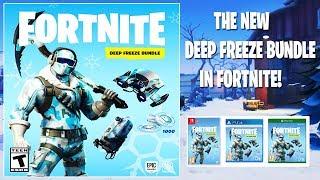 The NEW *Deep Freeze* Bundle In Fortnite..