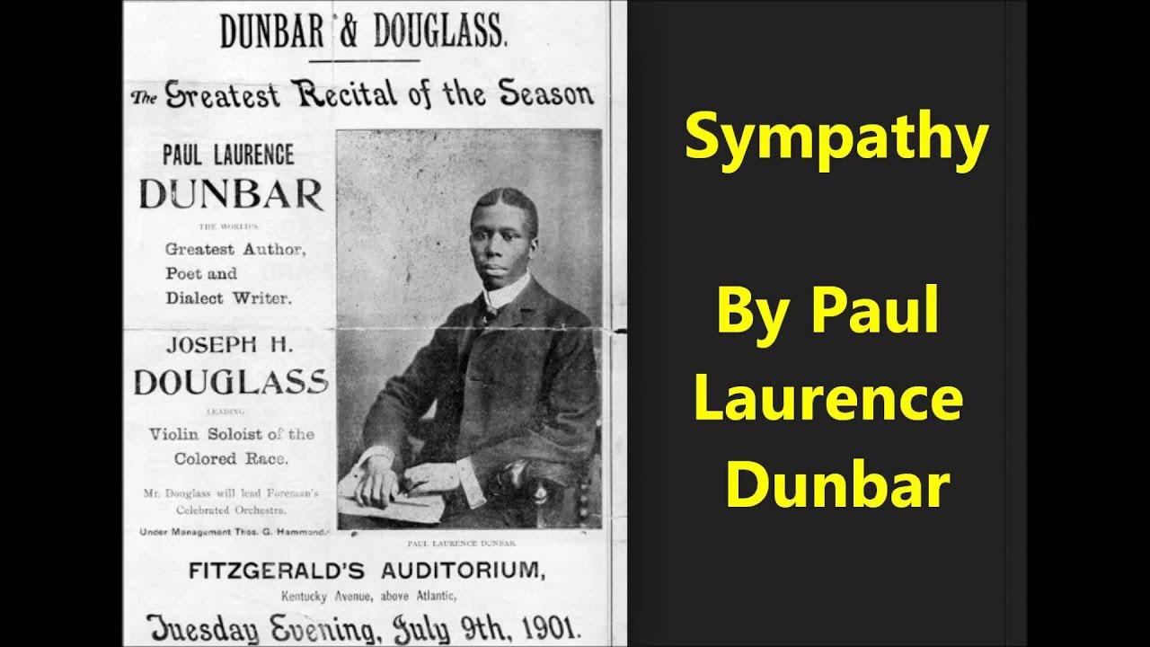 sympathy poem by paul laurence dunbar summary