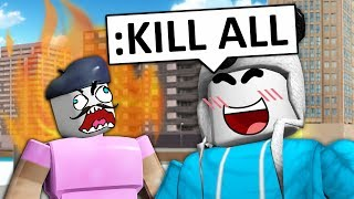 (Rage Quit) ADMIN COMMANDS TROLLING IN ROBLOX!
