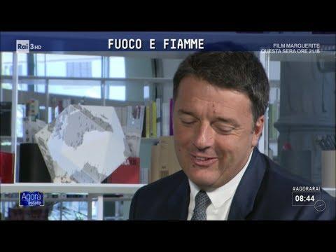 Intervista a Matteo Renzi - Agorà Estate 13/07/2017