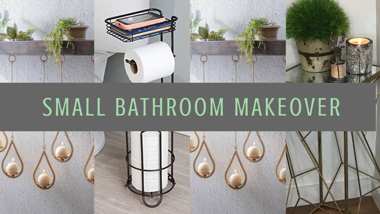 Decorating And Organizing Small Bathroom Spaces Tips