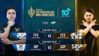 TRỰC TIẾP: HTVC IGP GAMING vs SAIGON PHANTOM - Viettel 5G ĐTDV mùa Xuân 2020
