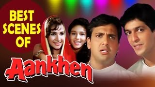 Ankhen (1993) | Best Hindi Comedy Scene | Kader Khan, Govinda, Chunky Pandey