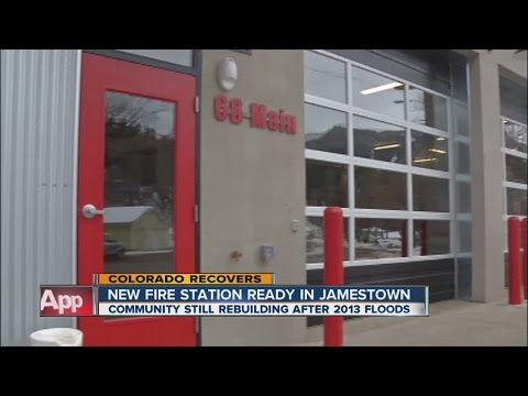New fire station a symbol of Jamestown's resilience post-flood