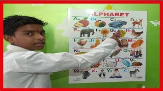 A for Apple B For Boll,Hindi Vernamala, A se Apple, क से कबूतर, K se kabutar,ABCD phonics Song