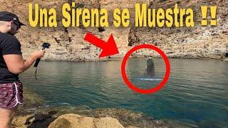 Graban a Sirena real SE DESCUBRE LA VERDAD con Laguna negra