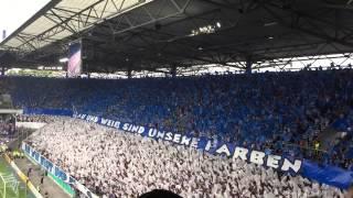 MSV-Schalke Fan-Choreo