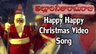 Alluri Seetharama Raju || Happy Happy Christmas Video Song || Krishna, Vijaya Nirmala