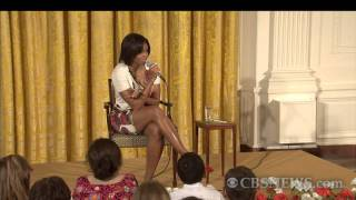 Michelle Obama \excited\ to see woman president