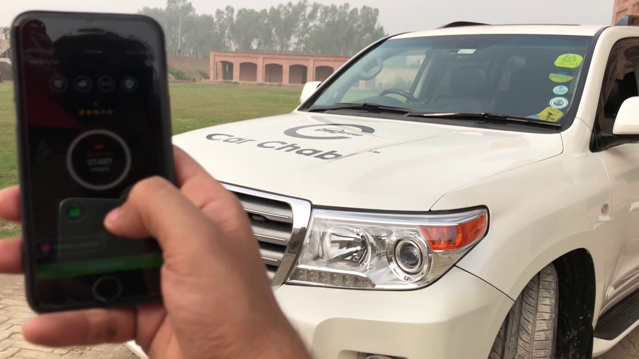 car key remote smartphone application (toyota land cruiser) - youtube  youtube
