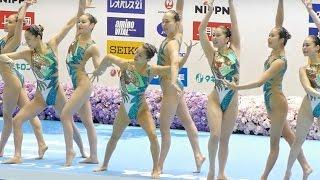 シンクロジャパンオープン2016 井村シンクロクラブ A team