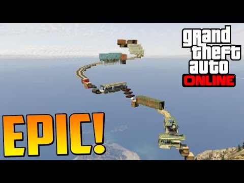 PARKOUR EXTREMO IMPOSIBLE!!! - Gameplay GTA 5 Online Funny Moments (GTA V PS4) from YouTube · Duration:  7 minutes 48 seconds
