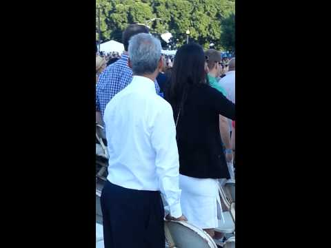 Rahm Emanuel Dancing to Blurred Lines at the Taste of Chicago