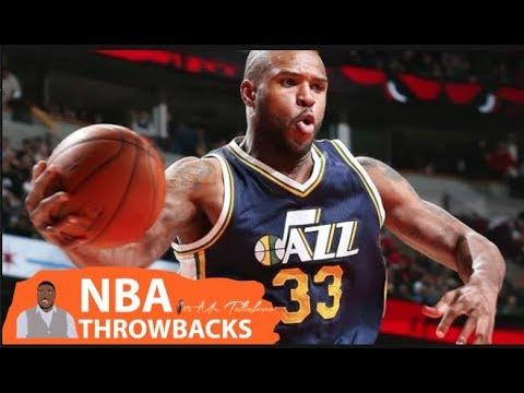 NBA THROWBACK: Trevor Booker SHOCKS OKC Thunder Crowd With Trick Shot Over His Head