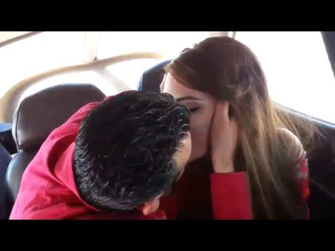Mansour & Miriam proposal in small jet in beirut