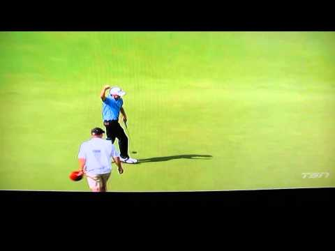 Mackenzie Hughes makes the US Open, TV coverage of long putt