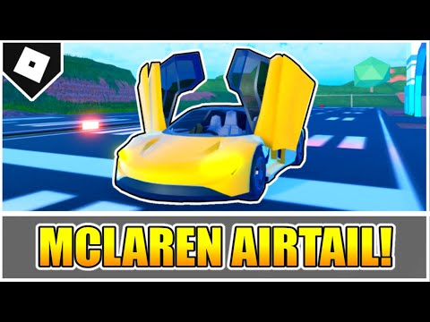 How to get the AIRTAIL (McLaren Speedtail) + LOCATION in JAILBREAK! [ROBLOX]
