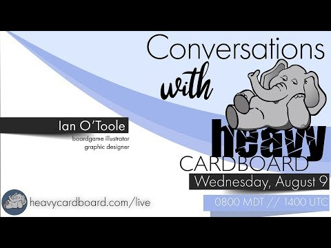 Conversations with Heavy Cardboard: Ian O'Toole