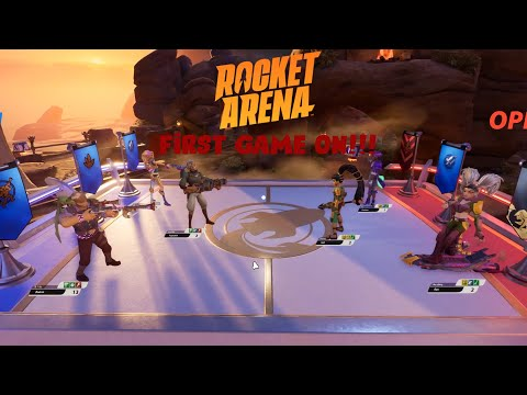 Rocket Arena- First Game On!!! |