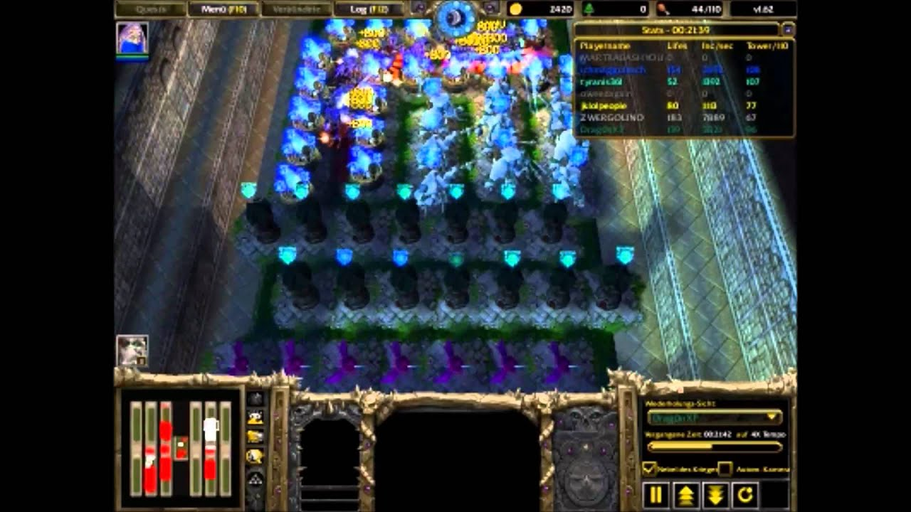 warcraft 3 frozen throne line tower wars download