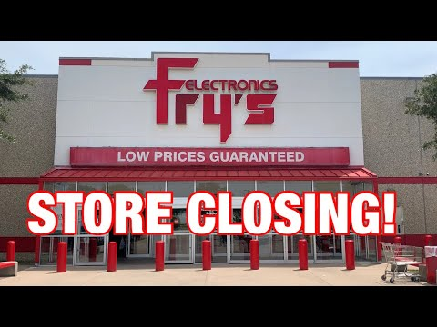 IS FRYS ELECTRONCS CLOSING FOR GOOD?