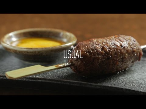 Chef Hiro Sone's Favorite Yakitori at Nojo | The Usual