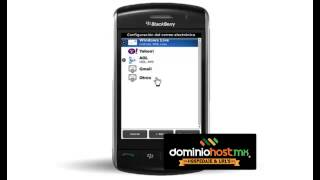 Configurar Email en BlackBerry