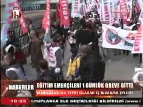 HALK TV İŞ BIRAKMA EYLEMİ
