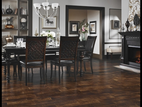 Exotic Dark Hardwood Floors Decoration Ideas